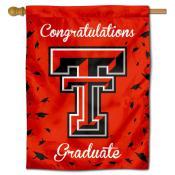 Texas Tech Red Raiders Congratulations Graduate Flag