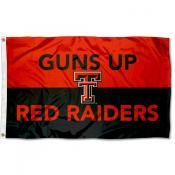 Texas Tech Red Raiders Hand Signal Flag