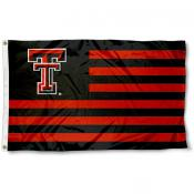 Texas Tech Red Raiders Striped Flag