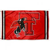Texas Tech Red Raiders Throwback Vault Logo Flag