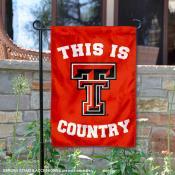 Texas Tech University Country Garden Flag