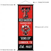 Texas Tech University Decor and Banner