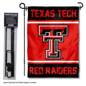 Texas Tech University Garden Flag and Stand