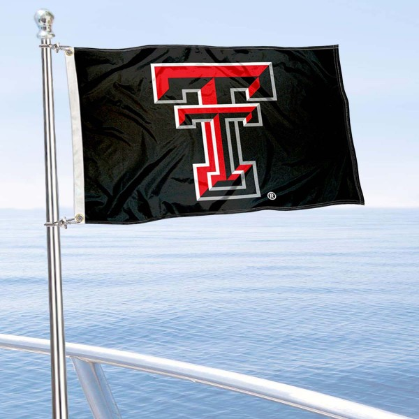 Texas Tech University Golf Cart Flag is a small 12x18 inches, made of 2-ply polyester with quad stitched flyends, and is double-sided. Our Golf Cart Logo Flags are Officially Licensed and Approved by Texas Tech and NCAA.