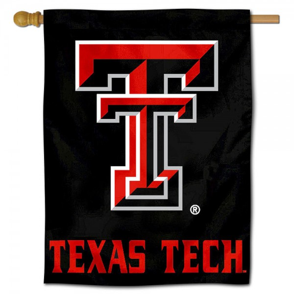 "Texas Tech University Red Raiders Decorative Flag is constructed of polyester material, is a vertical house flag, measures 30""x40"", offers screen printed athletic insignias, and has a top pole sleeve to hang vertically. Our Texas Tech University Red Raiders Decorative Flag is Officially Licensed by Texas Tech University Red Raiders and NCAA."