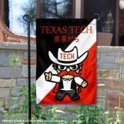 Texas Tech University Tokyo Dachi Mascot Yard Flag