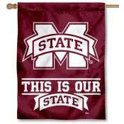 This is Our State MSU Bulldog Banner