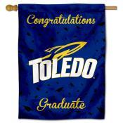 Toledo Rockets Congratulations Graduate Flag