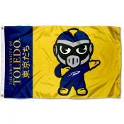 Toledo Rockets Kawaii Tokyodachi Yuru Kyara Flag