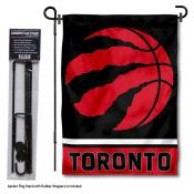 Toronto Raptors Garden Flag and Flagpole Stand