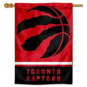 Toronto Raptors Logo Double Sided House Flag