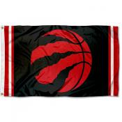 Toronto Raptors Raptor Ball Flag