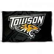 Towson Tigers Primary Logo Flag