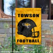 Towson University Helmet Yard Flag
