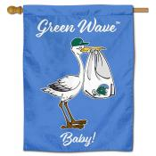 Tulane Green Wave New Baby Flag