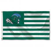 Tulane Green Wave Stripes Flag