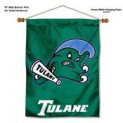 Tulane Green Wave Wall Banner