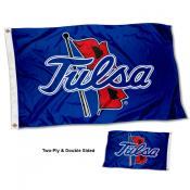Tulsa Hurricanes Double Sided Flag