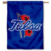 Tulsa Hurricanes Double Sided House Flag