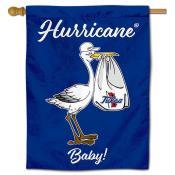 Tulsa Hurricanes New Baby Flag