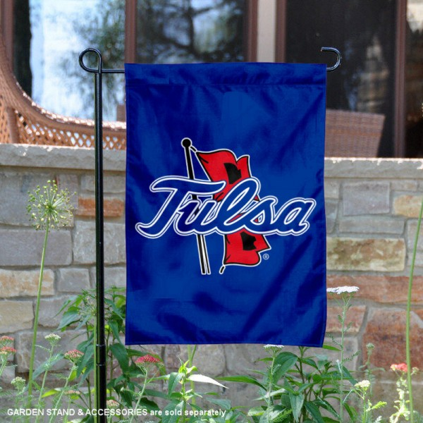 Tulsa Hurricanes New Logo Garden Flag is 13x18 inches in size, is made of 2-layer polyester, screen printed university athletic logos and lettering, and is readable and viewable correctly on both sides. Available same day shipping, our Tulsa Hurricanes New Logo Garden Flag is officially licensed and approved by the university and the NCAA.