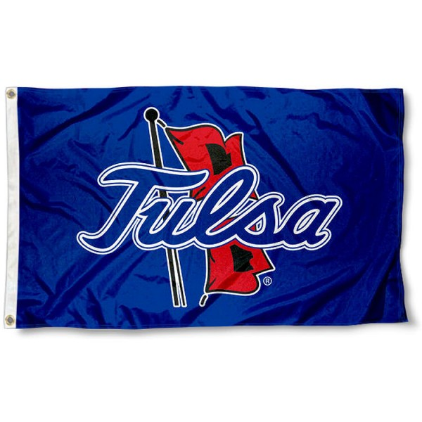 Tulsa Hurricanes Outline Logo Flag measures 3x5 feet, is made of 100% polyester, offers quadruple stitched flyends, has two metal grommets, and offers screen printed NCAA team logos and insignias. Our Tulsa Hurricanes Outline Logo Flag is officially licensed by the selected university and NCAA.