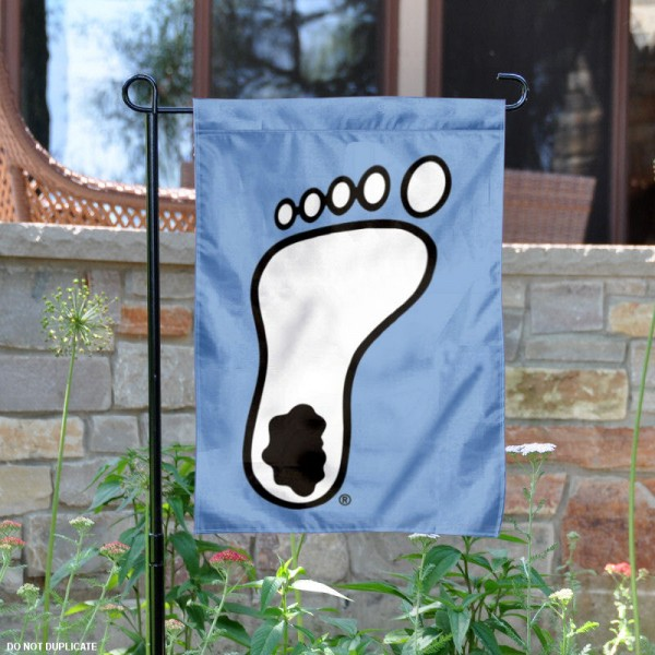 U of North Carolina Tar Heel Garden Flag