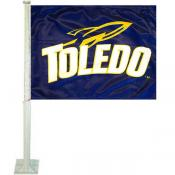 U of Toledo Car Flag