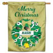 UAB Blazers Happy Holidays Banner Flag
