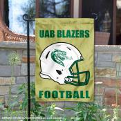 UAB Blazers Helmet Yard Garden Flag