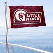UALR Trojans Boat and Mini Flag