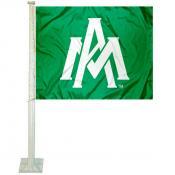 UAM Boll Weevils Logo Car Flag