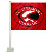 UC Clermont Cougars Logo Car Flag