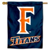 UC Fullerton Titans Double Sided House Flag