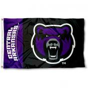 UCA Bears Head Logo Flag