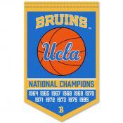 UCLA Bruins Basketball National Champions Banner