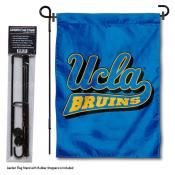 UCLA Garden Flag and Pole Stand Holder
