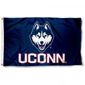 UCONN Huskies 3x5 Flag