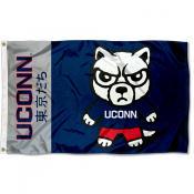 UCONN Kawaii Tokyodachi Yuru Kyara Flag