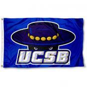UCSB Gauchos Blue Flag