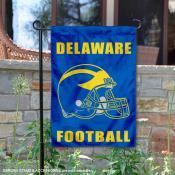UD Blue Hens Helmet Yard Garden Flag