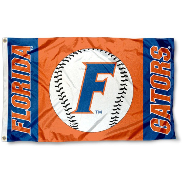 UF Baseball Flag measures 3'x5', is made of 100% poly, has quadruple stitched sewing, two metal grommets, and has double sided Team University logos. Our UF Baseball Flag is officially licensed by the selected university and the NCAA.