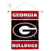 UGA Bulldogs Window and Wall Banner