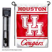 UH Cougars Garden Flag and Pole Stand Holder