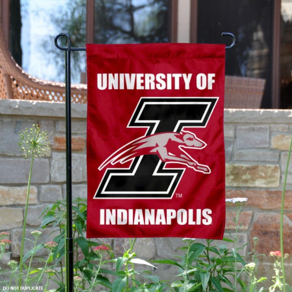 UIndy Greyhounds Garden Flag is 13x18 inches in size, is made of 2-layer polyester, screen printed university athletic logos and lettering. Available with Same Day Express Shipping, our UIndy Greyhounds Garden Flag is officially licensed and approved by the university and the NCAA.