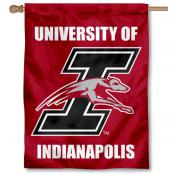 UIndy Greyhounds Logo House Flag