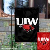 UIW Cardinals Dual Logo Garden Flag