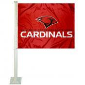UIW Cardinals Logo Car Flag