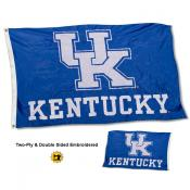 UK Wildcats New Logo Embroidered Flag
