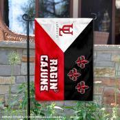 UL Lafayette Ragin Cajuns Acadian Garden Flag